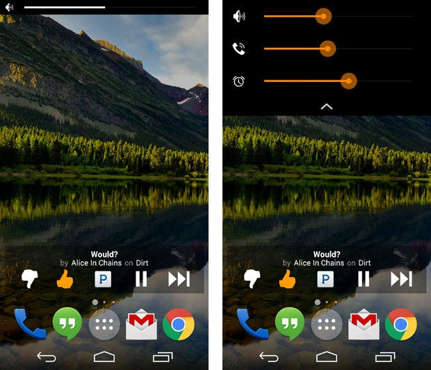 Noyze Volume Panel Android