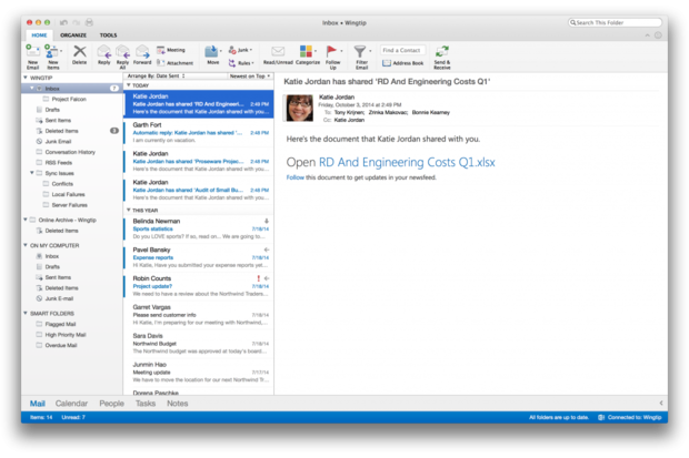 Microsoft Releases NEW Office for the Mac (Oct/2014