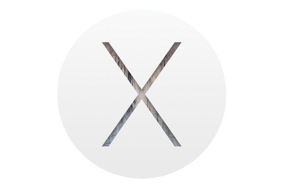 osx yosemite round logo