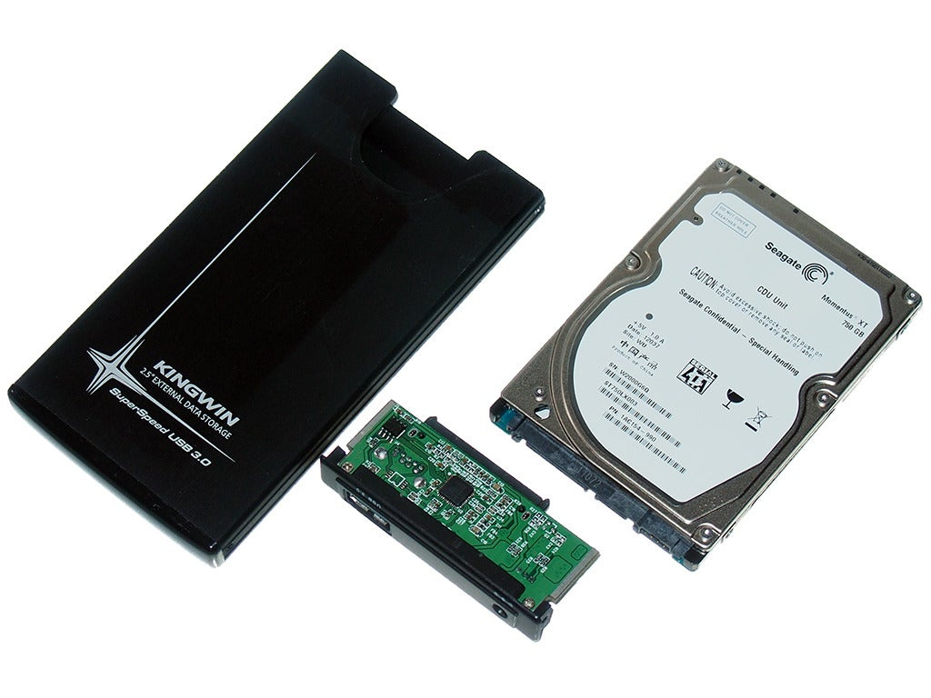 Its Cheap And Easy To Make Your Own Portable Hard Drive From An Old It Scrap Recycling Circuit Board Prep Work
