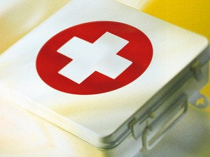 first-aid patch medicine cure