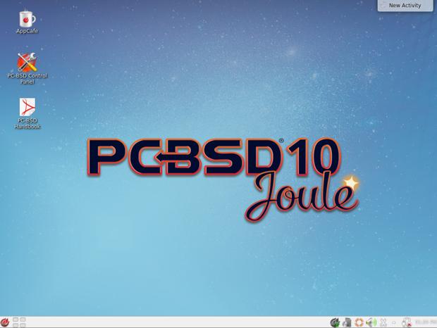 pc bsd 10.0.3 kde desktop