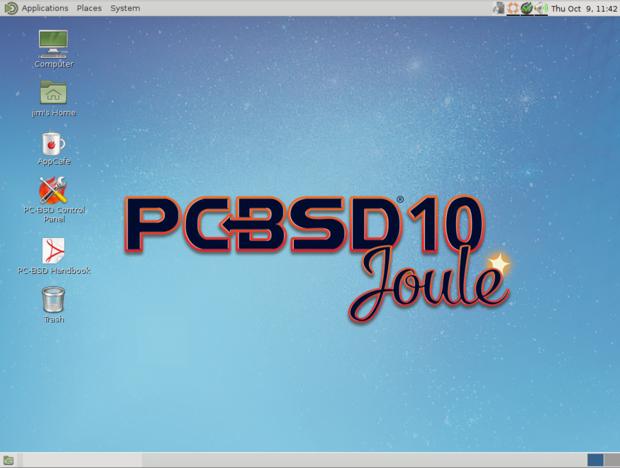 pc bsd 10.0.3 mate desktop