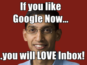 pichai google inbox