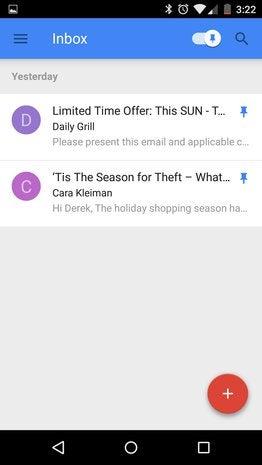 pins inbox