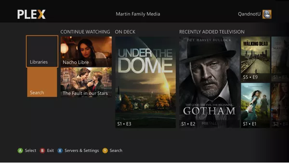 plex continue watching