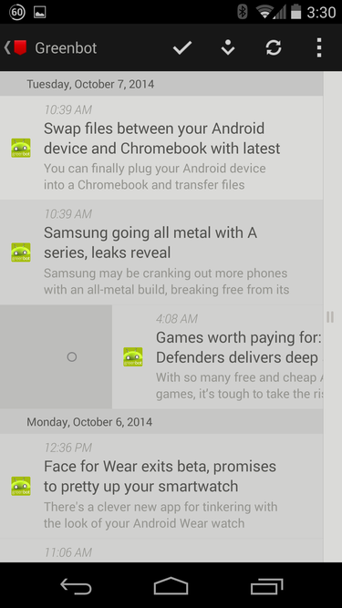 The best RSS apps and widgets for Android | Greenbot