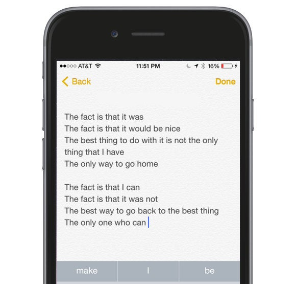 Just for fun: Show us your best QuickType poetry | Macworld