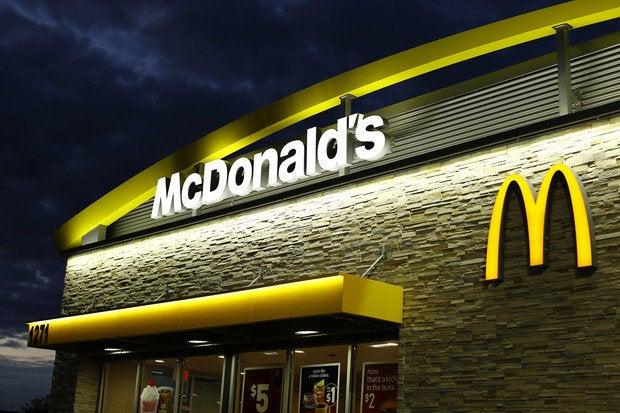 McDonald's in Encinitas, Calif.