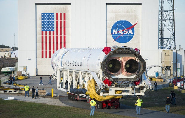 Antares rollout