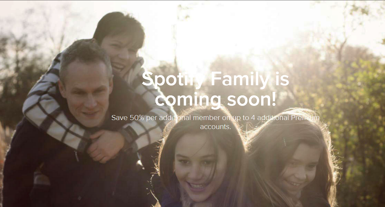 Spotify's Family plan offers separate accounts for everyone in your