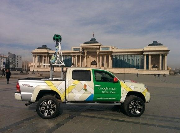 street view truck