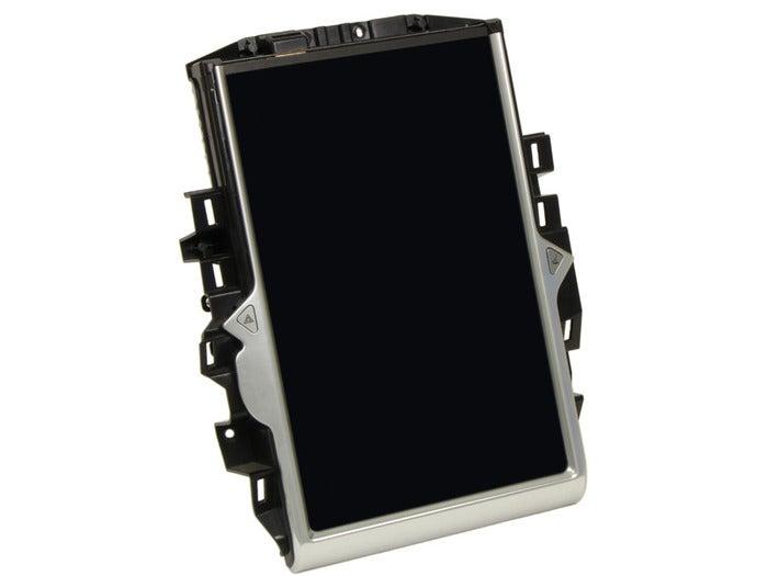 tesla 2013 model s premium media control unit front view