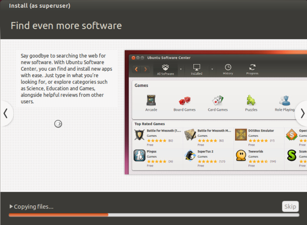 ubuntu 14.10 install slideshow
