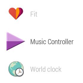 wearmusiccontroller app