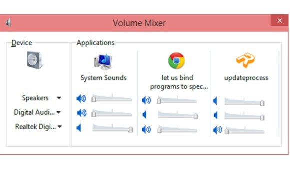 windows 10 audio resize