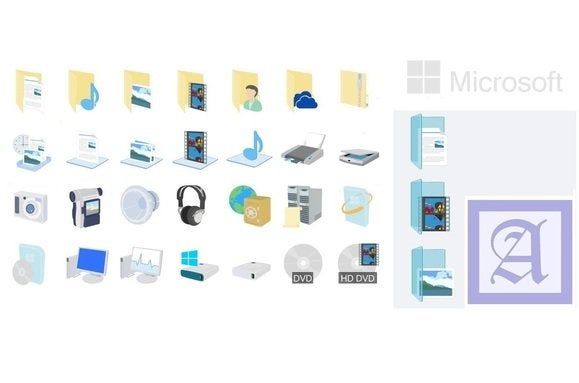 windows 10 beta icons