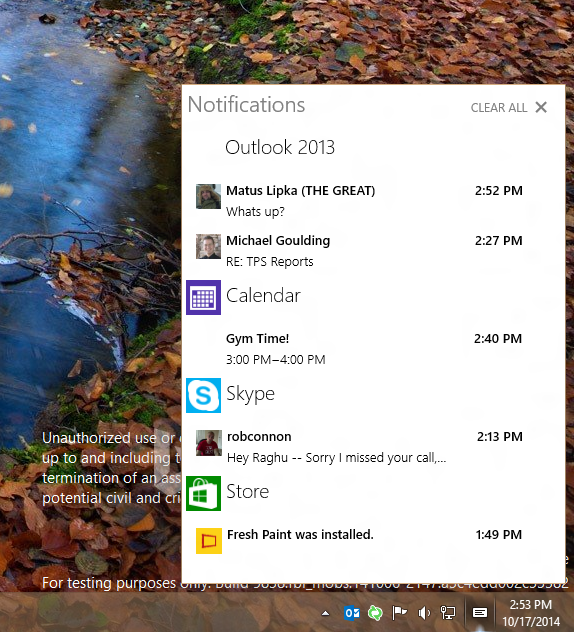 how to turn on battery notification windows 10