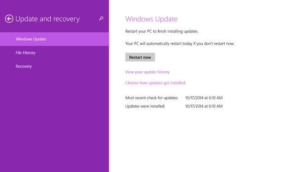 windows 10 windows update larger