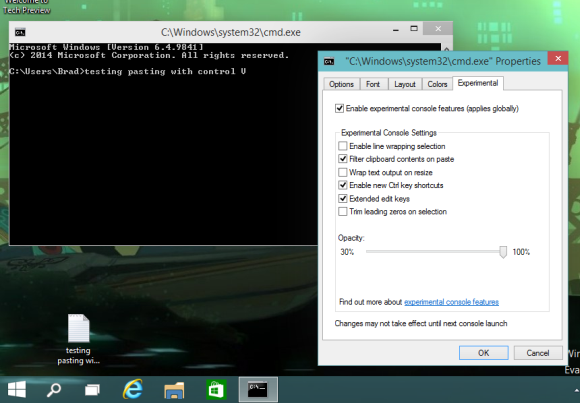 windows10 command prompt