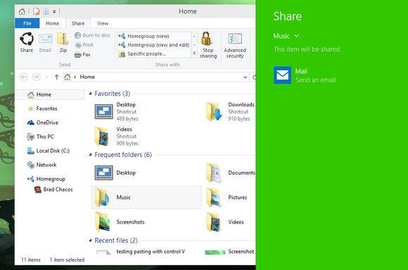 windows10 share