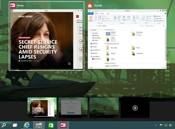 windows10 task view virtual machines