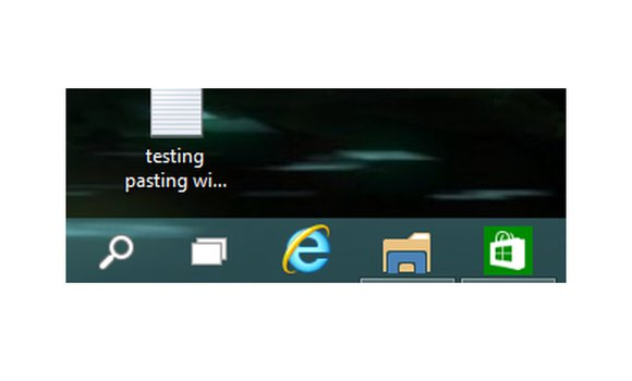 windows10 virtual machine underlined apps task bar