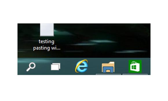 windows10 virtual machine underlined apps task bar