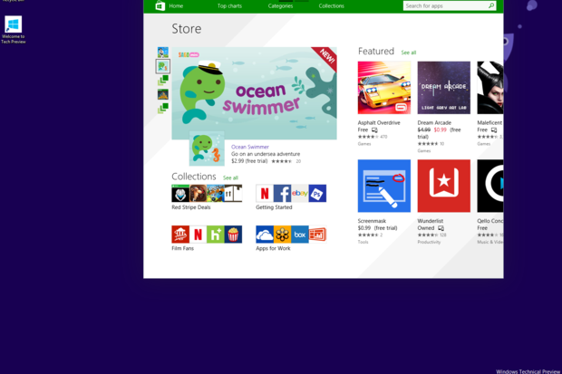 Windows 10 Windows Store apps