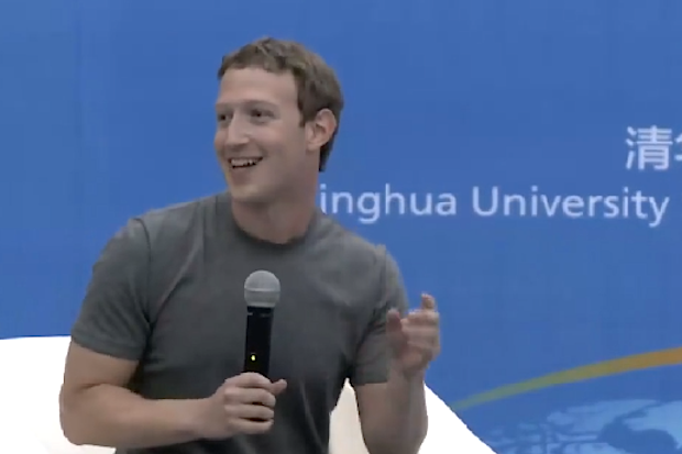 zuckerberg in china