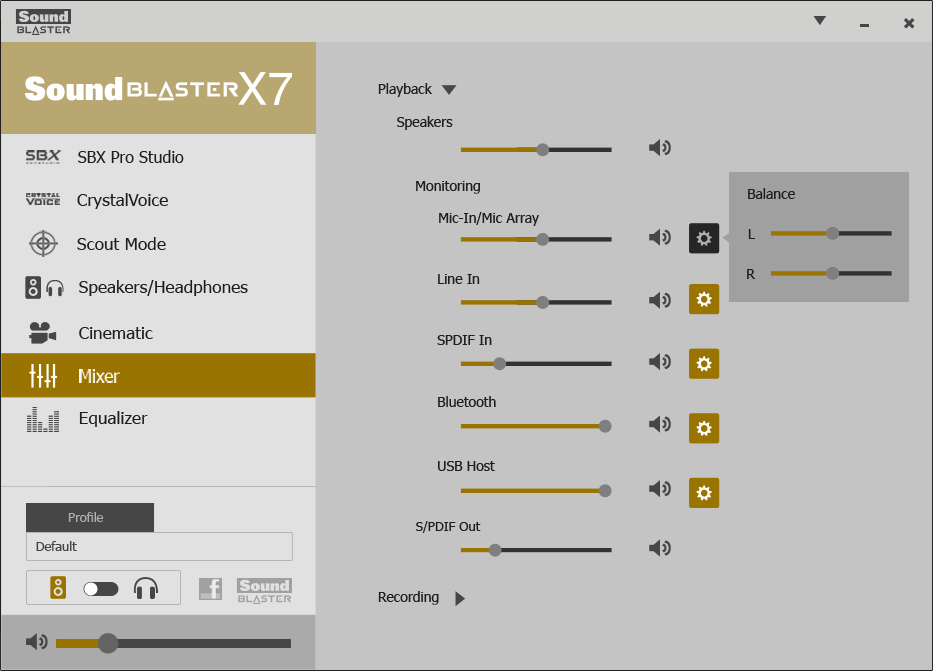 Creative Sound Blaster X7 review: An audio-processing