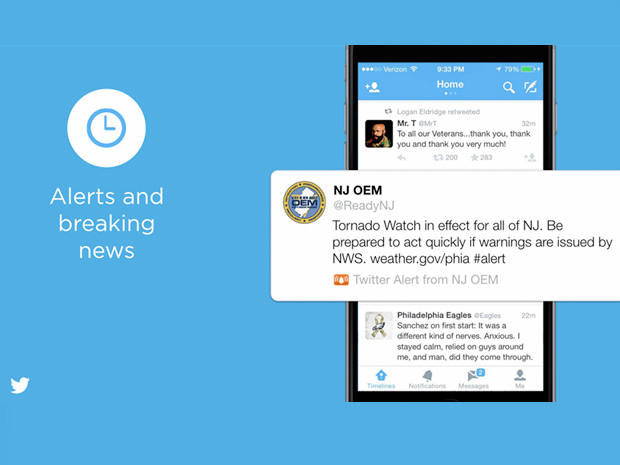 how to get twitter topic alerts
