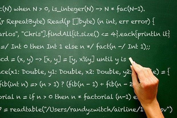 9 programming languages