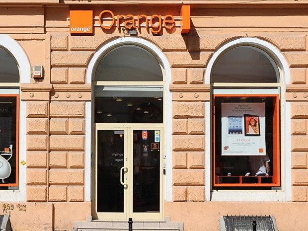 13 orange telecom storefront