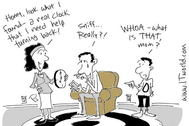 technology is making dads obsolete cartoon itworld