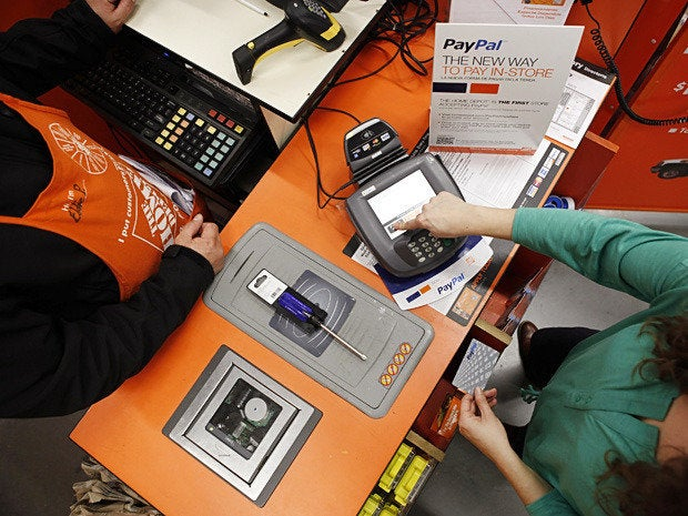 23 homedepot paypal
