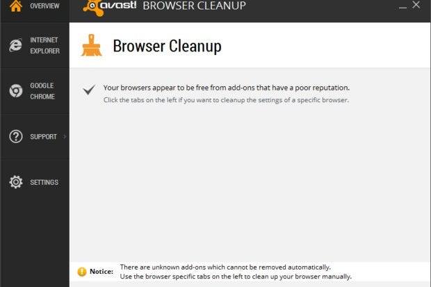 avast browser cleanup havoc