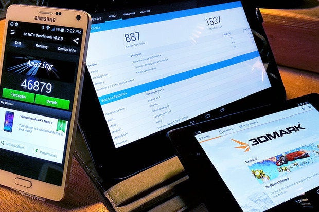 How to benchmark your Android phone or tablet