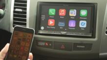Apple CarPlay with iPhone