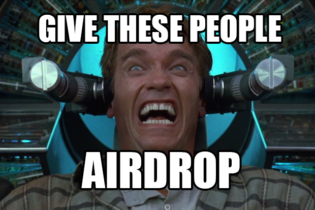 copresence a bumped up airdrop