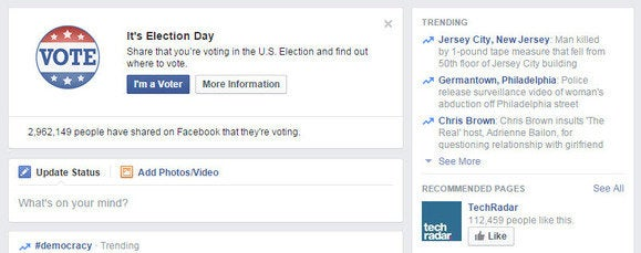 facebook election