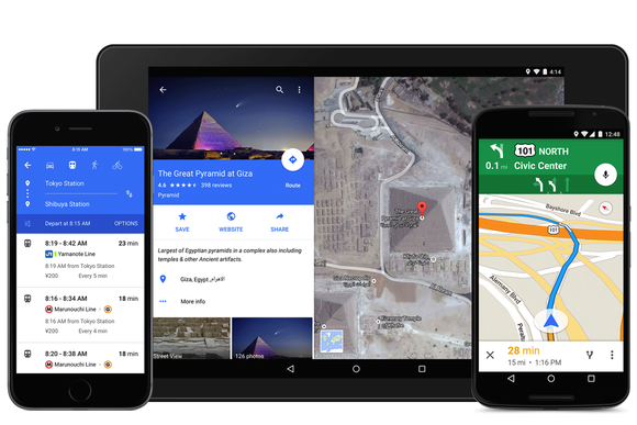 Google Maps 9.2 adds navigation voice controls, calition tool ... on