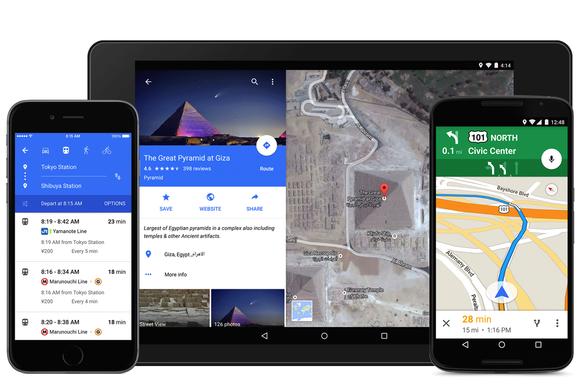 google maps material design