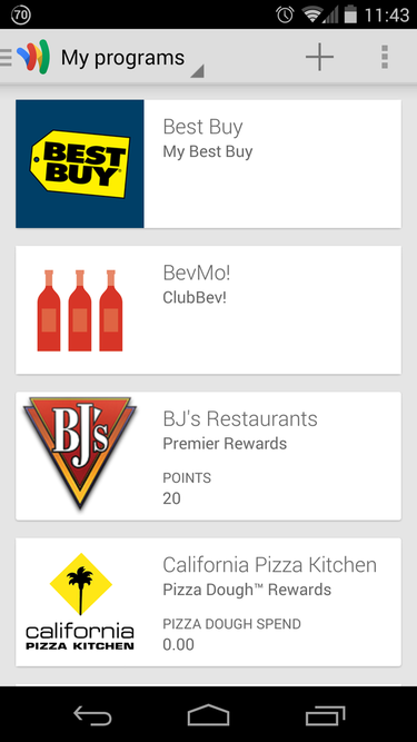 how to add loyalty cards to google wallet