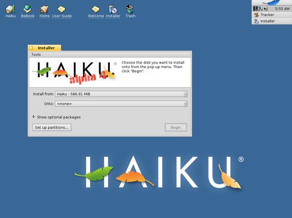 haiku alpha 4
