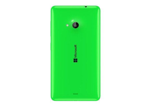 Microsoft lumia 535 back green