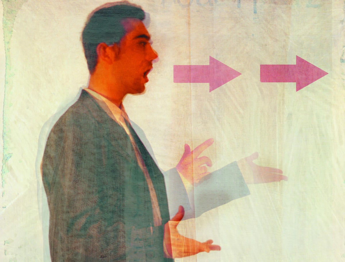 man shouting aggressive communication expressive