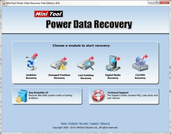mini tools power data recovery free edition v8.0 license code