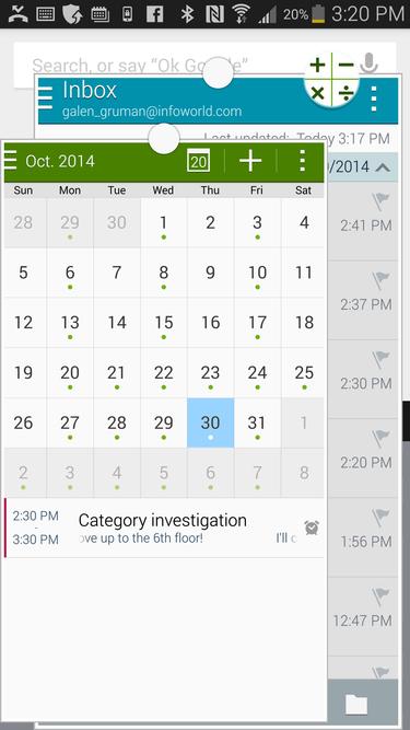 Galaxy Note 4 multiwindow mode