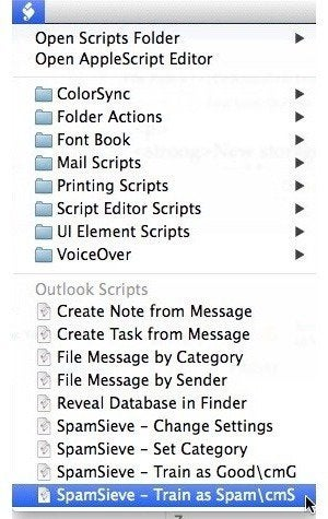 outlook applescript